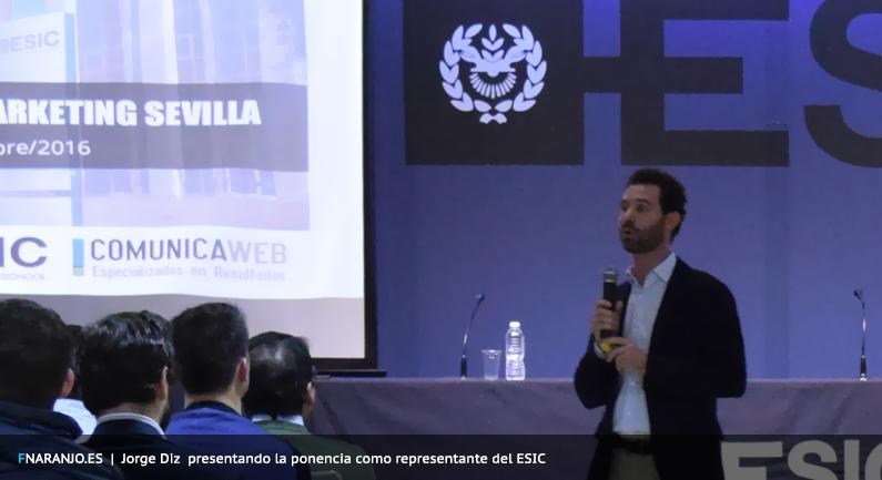 Jorge Diz Presentando la Jornada Inbound Marketing