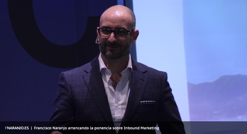 Francisco Naranjo conferencia Inbound Marketing Comunica-web.com