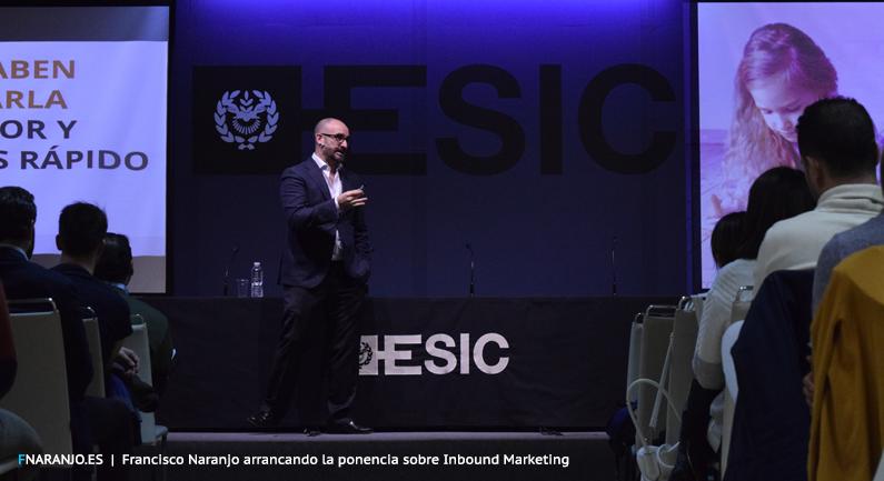 V Jornada de Inbound Marketing. Comunica-Web.com + Adigital + ESIC