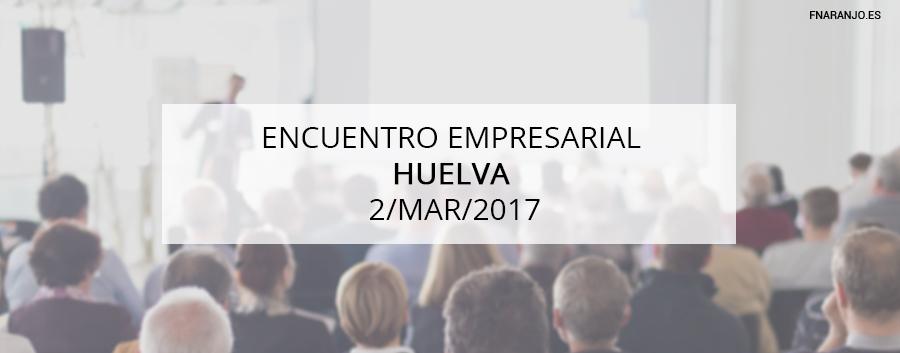 Ponencia en Huelva sobre Marketing y nuevos hábitos de compra