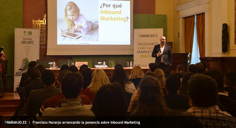 Francisco Naranjo, ponencia Inbound Marketing Malaga