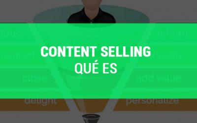 Qué es Content Selling