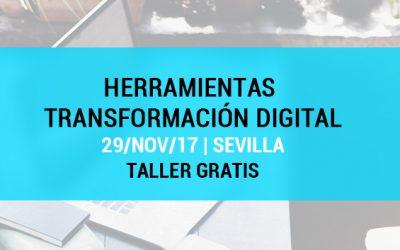 Curso gratis Sevilla: Herramientas para la Transformación Digital en pequeñas y medianas empresas
