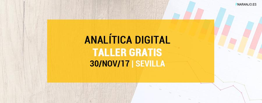Analítica Digital aplicada a Pymes – Curso gratis en Sevilla