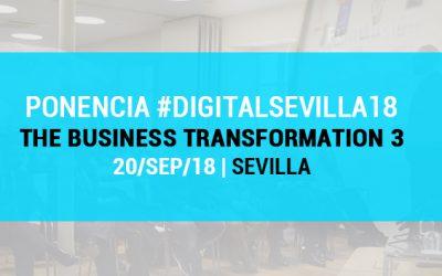 Ponencia en Sevilla sobre Marketing Digital y Estrategia de Negocios