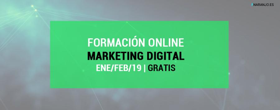 Formación online gratuita sobre Marketing Digital