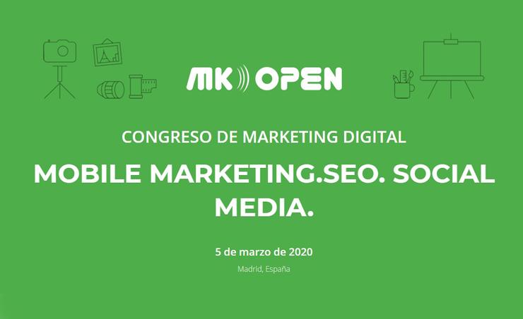 Congreso Marketing Digital MK OPEN