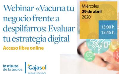 Webinar: 'Vacuna tu negocio frente a despilfarros: Evaluar tu estrategia digital'