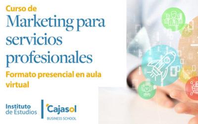 Curso de Marketing para servicios profesionales